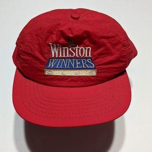 Vintage 80s Winston Cup Nascar Snapback Hat
